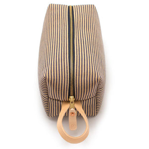 Vintage French Ticking Stripe Travel Kit - General Knot & Co. ,  Bags - Neckwear and travel bags
