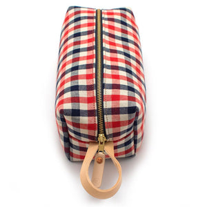 Vintage Gingham Travel Kit - General Knot & Co. ,  Bags - Neckwear and travel bags