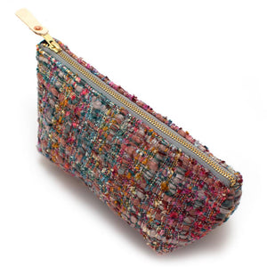 Vintage Italian Boucle Travel Clutch - General Knot & Co. ,  Bags - Neckwear and travel bags