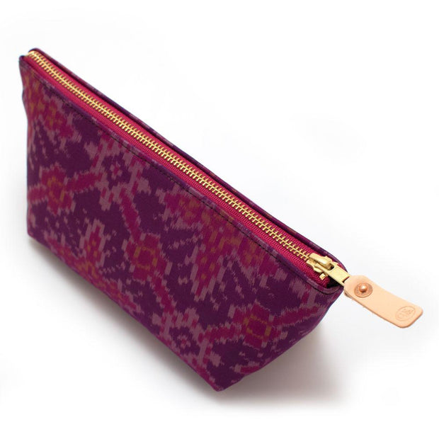 Vintage Jaipur Silk Travel Clutch - General Knot & Co. ,  Bags - Neckwear and travel bags