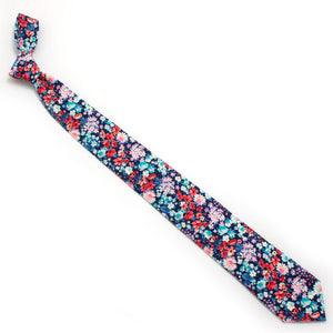 "Vintage James Park Floral Necktie - General Knot & Co. ,  Classic Necktie 2 7/8"" x 58"" - Neckwear and travel bags"