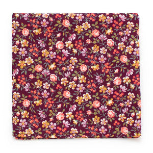 "Vintage Mountain Floral Pocket Square - General Knot & Co. ,  Squares 13""x13"" - Neckwear and travel bags"