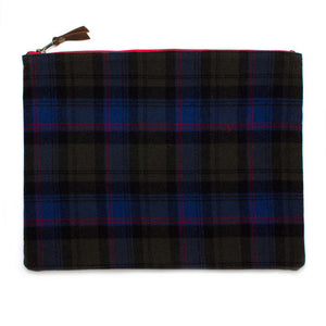 Vintage Oxford Plaid Laptop Sleeve/Carryall - General Knot & Co. ,  Bags - Neckwear and travel bags