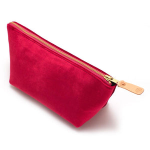 Vintage Rose Velvet Travel Clutch Bags General Knot & Co.