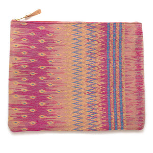 Vintage Thai Tapestry Laptop Sleeve- Carryall Large Bags General Knot & Co.