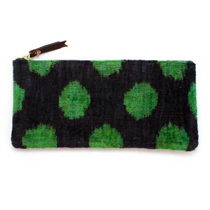Vintage Turkish Dot Envelope Pouch - General Knot & Co. ,  Women's Carryalls - Neckwear and travel bags