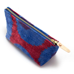 Vintage Velvet Dots Travel Clutch - General Knot & Co. ,  Bags - Neckwear and travel bags