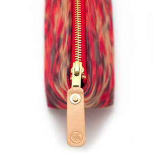 Warm Indian Ikat Travel Clutch - General Knot & Co. ,  Women's Carryalls - Neckwear and travel bags