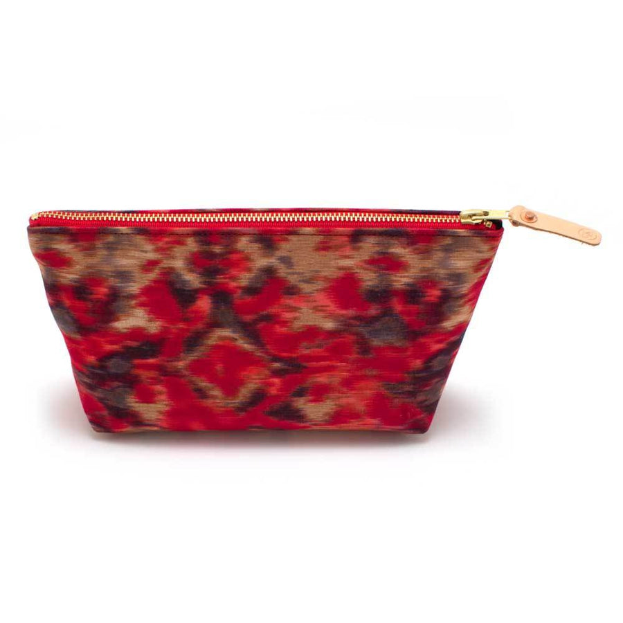 Warm Indian Ikat Travel Clutch - General Knot & Co. ,  Bags - Neckwear and travel bags