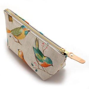 Watercolor Birds Travel Clutch - General Knot & Co. ,  Bags - Neckwear and travel bags