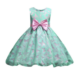 d048808a6475 2018 Fashion design Children s party dress Flower