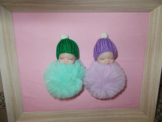 Touch and Feel Babies - Purple & Green