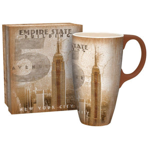 Empire State Lang Latte Mug