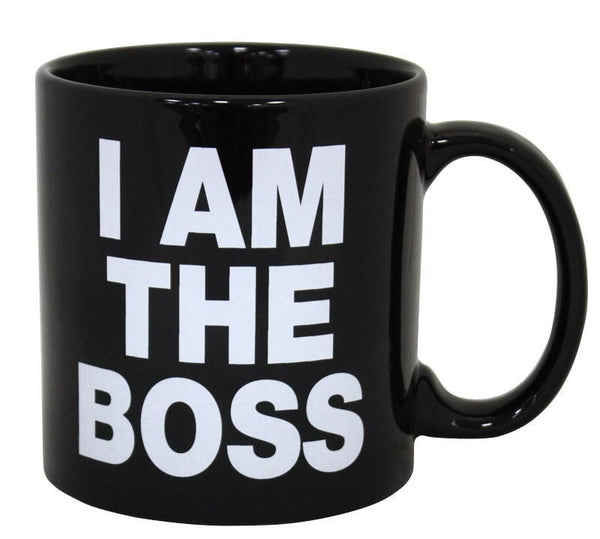 I Am The Boss Giant 22oz Coffee Mug