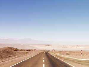 Empty Highway, Tierra Atacama, Chile