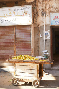 Fruit Cart, Luxor, Egypt