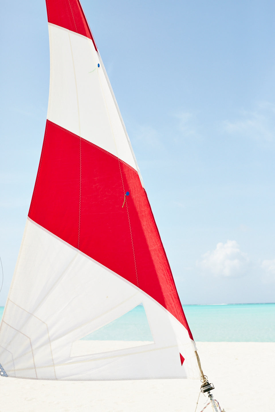 Red Stripe (detail), Cocoa Island, Maldives