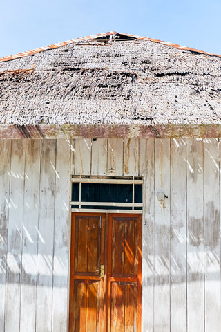 Traditional House, Raja Arborek, Eastern Indonesia