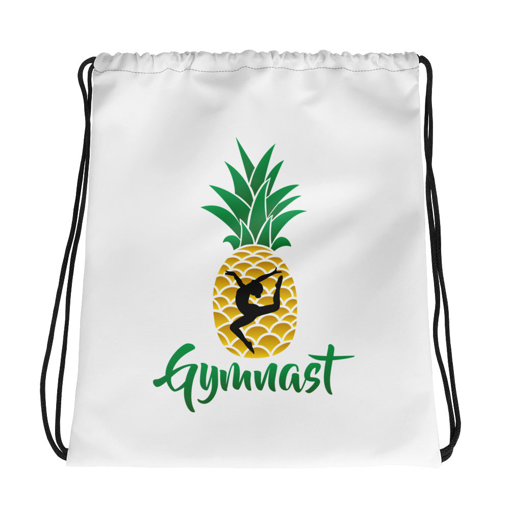 Gymnast Drawstring bag