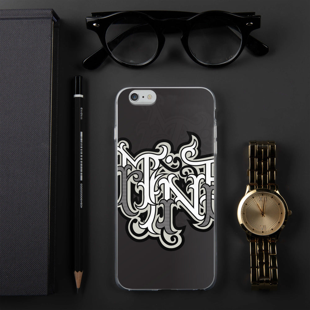 Mine Graffiti iPhone Case