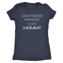 Load image into Gallery viewer, Boyfriend to Daddy/ Girlfriend to Mommy Shirts