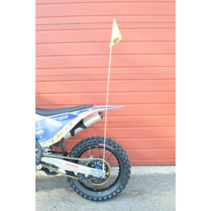 ENDURO ENGINEERING QUICK RELEASE AXLE MOUNTED SAFETY FLAG MOUNT
