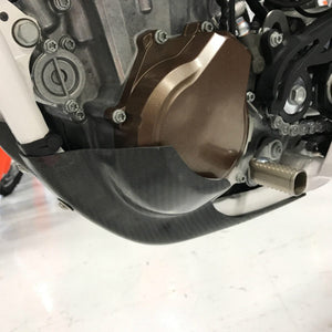 P3 RACING CARBON FIBER SKID PLATE