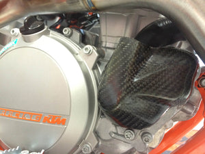 P3 RACING CARBON FIBER WATER PUMP COVER
