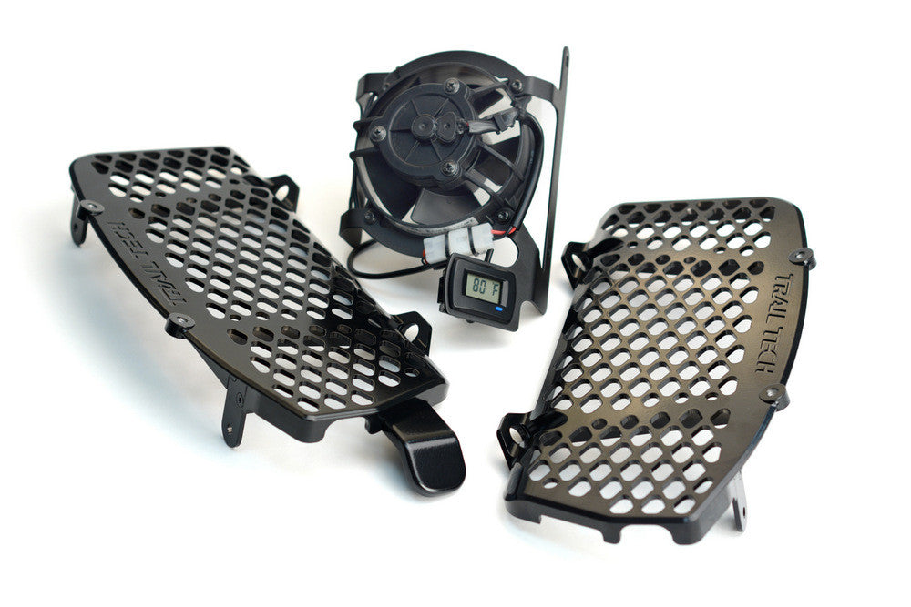 Trail Tech DIGITAL FAN KIT AND RADIATOR GUARD BUNDLE