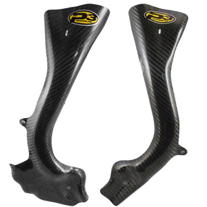 P3 RACING CARBON FIBER FRAME GUARDS