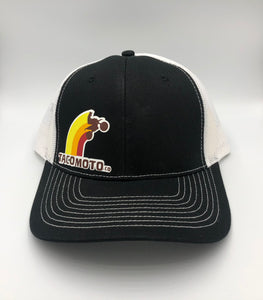 TACO MOTO CO SNAPBACK 'TRUCKER' HAT
