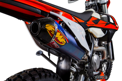 FMF KTM FACOTRY REPLICA 4.1 TITANIUM SILENCER W CARBON END CAP