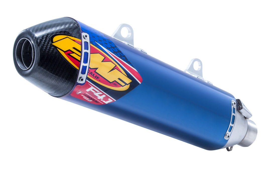 FMF KTM FACTORY REPLICA 4.1 TITANIUM SILENCER W CARBON END CAP