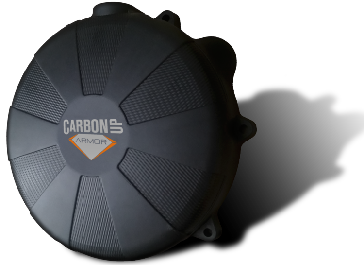 CARBON UP CLUTCH COVER