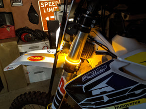 TACO MOTO CO FORK WRAP LED FRONT SIGNALS
