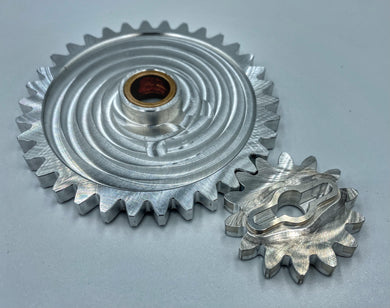 Billet Oil Pump Gears by Hicks Moto