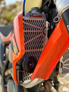 ENDURO ENGINEERING BILLET FULL SIDE PROTECTION RADIATOR CRASH GUARD