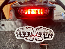 Load image into Gallery viewer, TIDY TAIL V2 *WITH PLATE DOWN LIGHT* BY TACO MOTO CO.