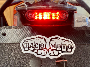 TIDY TAIL V2 *WITH PLATE DOWN LIGHT* BY TACO MOTO CO.
