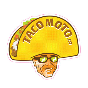 Taco Moto Co Stickers