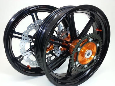 Warp 9 Super Moto Wheel Set
