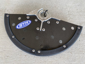 SYSTEM TECH RACING ULTRA LIGHT FRONT DISK GUARD - STR