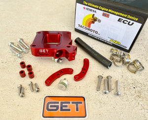 ATHENA GET Fuel Injector Relocator Kit for 250-300 tpi