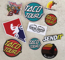 Load image into Gallery viewer, Taco Moto Co Stickers
