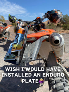 ENDUROPLATE LICENSE PLATE HOLDER