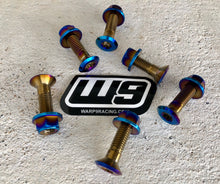 Load image into Gallery viewer, TITANIUM SPROCKET BOLT SET BY WARP 9