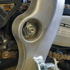 Steel Horse Innovations Grease-able Swing Arm Shaft
