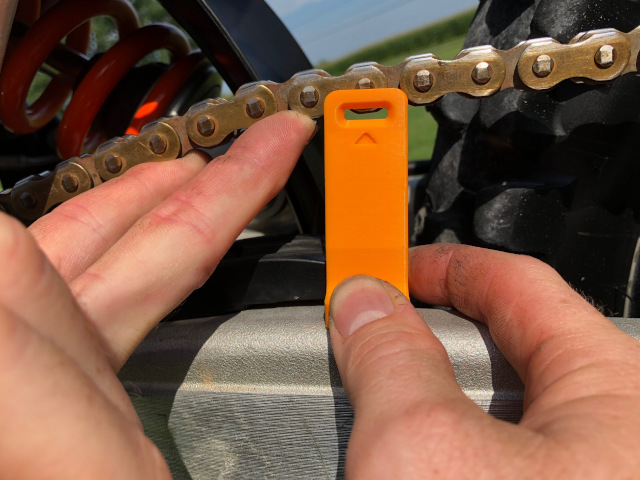 Taco Tensioner Pass / Fail Chain Tool by BRN Off Road
