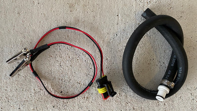 FUEL PUMP TESTER AND TRANSFER KIT BY TACO MOTO CO.