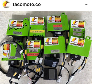 ATHENA GET ECU REFLASH / REMAP OF YOUR ECU WITH TACO MOTO CO. CUSTOM MAPS